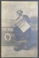ENGHIEN-LES-BAINS . 1908 Carte Photo - Enghien Les Bains
