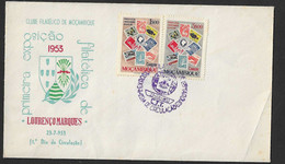 1953 - FDC - Mozambique - Philatelic Club Of Mozambique - First Philatelic Exhibition By Lourenço Marques - Mozambique