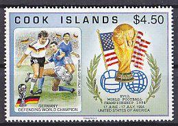 Soccer World Cup 1994 - COOK ISLANDS - Stamp MNH - 1994 – Estados Unidos