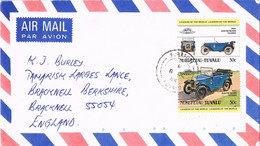 40050. Carta Aerea FUNAFUTI (Tuvalu)  1984. Auto, Cars Austin Seven 1923 - Tuvalu (fr. Elliceinseln)