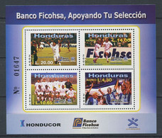 298 HONDURAS 2004 - Yvert BF 77 - Football Joueur - Neuf ** (MNH) Sans Charniere - Honduras