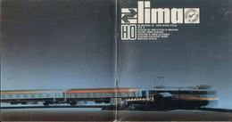 Catalogue LIMA 1970/71 Scala HO 1/87 + Preisliste SEK - En Italien, Anglais, Français Et Allemand - Frans