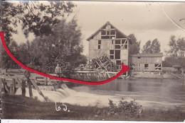 Mühle Wassermühle Moulin Mill Molen  Photo Inconnue  Carte Photo Allemande 1° Guerre - War 1914-18