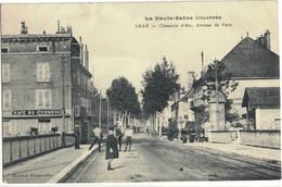 CPA   GRAY   Chaussée D'Arc,Avenue De Paris - Gray