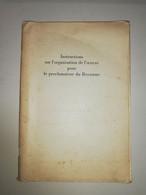 1946 Rare Léquime Instructions Sur L'organisation De L'oeuvre Pour Le Proclamateur Du Royaume Watch Tower Bible Jéhovah - Religion