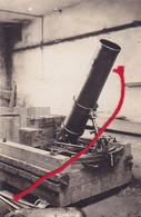 Canon Minenwerfer Flügelminenwerfer  Photo Inconnue  Carte Photo Allemande 1° Guerre - War 1914-18