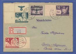 Generalgouvernement, Satz Mi.-Nr. 56-58 Auf R-Brief Von Biecz Nach Berlin - Sin Clasificación