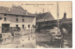 CPA   HERICOURT  Le Pont  N° 27 - Andere Gemeenten