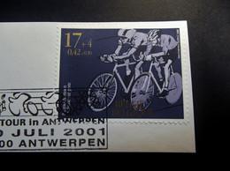 Belgie Belgique - 2001 - OPB/COB  - 3012  -  De Tour - Gestempeld 10 Juli Antwerpen. - Used Stamps