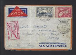 FRANCE 1ER LIAISON AIR BLEU 1935 - Flugzeuge