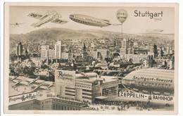 Stuttgart 1940 Zeppelin Flugzeug Avignon Aircraft Aerodrome Airport DO X Raketen Rocket Fusee Missile - Stuttgart