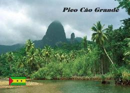 Sao Tome And Principe Great Dog Peak New Postcard - Sao Tome En Principe