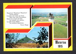 Belgique - WATERLOO - 1815 - Multi Vues Et Texte De Victor Hugo ( Edit. Thill S.A N° 150/37) - Waterloo