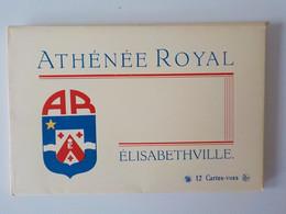 1950 Carnet 12 CP Vues Athénée Royal Congo Belge Elisabethville Lubumbashi Zaïre - Belgian Congo - Other