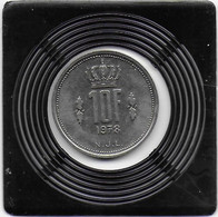 10 Francs 1978 - Luxembourg