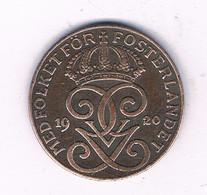 2 ORE 1920   ZWEDEN /3091/ - Suecia