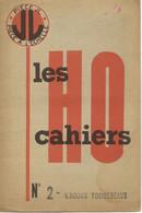 Catalogue J.L. Jean LAFFONT LES CAHIERS HO N 2 Wagons Tombereaux - Frans