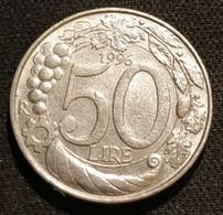 ITALIE - ITALIA - Lot De 2 Pièces - 50 LIRES 1996 - KM 183 - 100 LIRES 1993 - KM 159 - Other