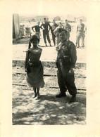 GUERRE D'ALGERIE  PHOTO ORIGINALE 10 X 7.50 CM - Krieg, Militär