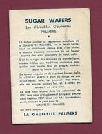 120421A - CALENDRIER Biscuits Gaufrettes SUGAR WAFERS HUNTLEY & PALMERS - Altri