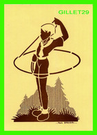 """SCOUTISME - POCHOIR DE PAUL BREYDEL, TIRÉ DE  """" ART SCOUT """" - ED. DU FLAMANT - - Scouting"""