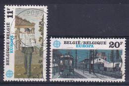 Belgie Gestempeld YT°  2092-2093 - Gebruikt