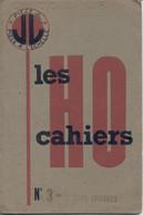 Catalogue J.L. Jean LAFFONT LES CAHIERS HO N 3 Wagons Citernes - Frans