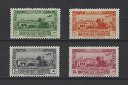 GRAND LIBAN.  YT  PA N° 75/78  Neuf **  1938 - Luftpost