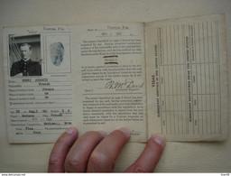 MARINE En 1921 Carte De Débarquement Aux Etats Unis Officier Marin De La Compagnie Générale Transatlantique - Boats
