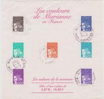 FRANCE 2001 Bloc Les Couleurs De Marianne YT BF N° 41 Oblitéré - Used