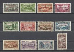 GRAND LIBAN.  YT  N° 63/74  Neuf *  1926 - Ungebraucht