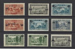 GRAND LIBAN.  YT  N° 75/83  Neuf *  1926 - Ungebraucht