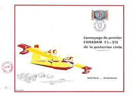 FRANCE CONVOYAGE CANADAIR PROTECTION CIVILE - Brandweer