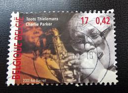Belgie Belgique - 2000 - OPB/COB  - 2962 - Toots Tielemans -  Gestempeld - Used Stamps