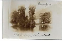 CARTE PHOTO NORD 59 ANNAPPES Propriété à Brigode Du Comte De Montalembert - Villeneuve D'Ascq