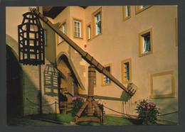 (654) ROTHENBURG : KRIMINALMUSEUM - TAUCHGESTELL MIT KAFIG - STRAFE FUR BACKER DIE ZU KLEINES BROT VERKAUFTEN - Prison
