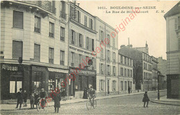92.  BOULOGNE SUR SEINE .   La Rue De Billancourt . - Boulogne Billancourt