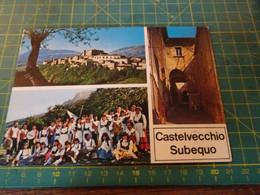61200/20  Cartolina Di CASTELVECCHIO SUBEQUO  Usata Per Concorso - L'Aquila
