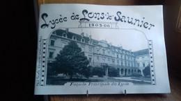 """""""Lycée De LONS-LE-SAUNIER 1905-06"""" 18 Photos Pleine Page 220x150. JURA (185Ry4) - Franche-Comté"""