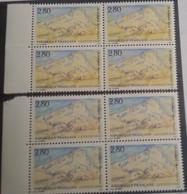 FRANCE - N° 2891 - 2 Blocs De 4 - Variété De Couleur - 2 Teintes Différentes - Curiosités: 1990-99 Neufs