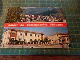 61200/22  Cartolina Di CASTELVECCHIO SUBEQUO  Usata Per Concorso - L'Aquila