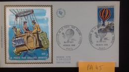 FRANCE  PA 45  FDC 1ER JOUR Du 16/11/1971 - 1970-1979