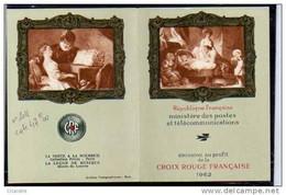 France :CARNET CROIX ROUGE DE 1962   N°2011 - Cruz Roja