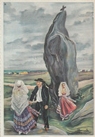 29 - En Parcourant La Bretagne - Brignogan - Le Grand Menhir ( Illustrateur Homualk) Mégalithe - Homualk
