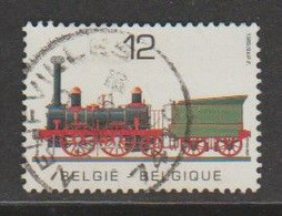 "BELGIQUE (OPB-COB) 1985 - N°2171 * Locomotive Et Tander ""Elephant""*  12F Obli (NEUFVILLE ) - Gebruikt"