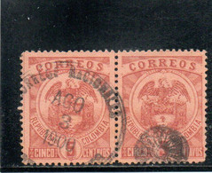 COLOMBIE 1898-1902 O - Colombia