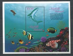 298 NORFOLK 1998 - Yvert BF 27 - Requin - Neuf ** (MNH) Sans Charniere - Norfolk Island