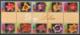 298 NORFOLK 2003 - Yvert 776/85 - Fleur - Neuf ** (MNH) Sans Charniere - Norfolk Island