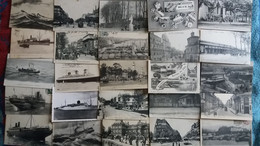 Lot De 100 Cpa Nombreuses Animations - Villes-villages-vues (11) - 100 - 499 Postcards