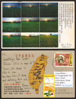 Taiwan China Sunset Nice Stamp  #32862 - Taiwan
